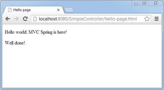 result-of-spring-mvc-beginning