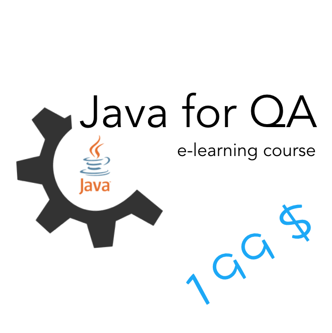 Java for QA e-learning course