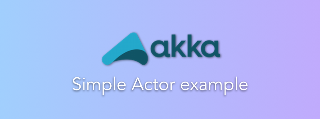 Akka-simple-actor-example