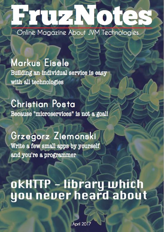 FruzNotes Online Magazine about JVM-technologies