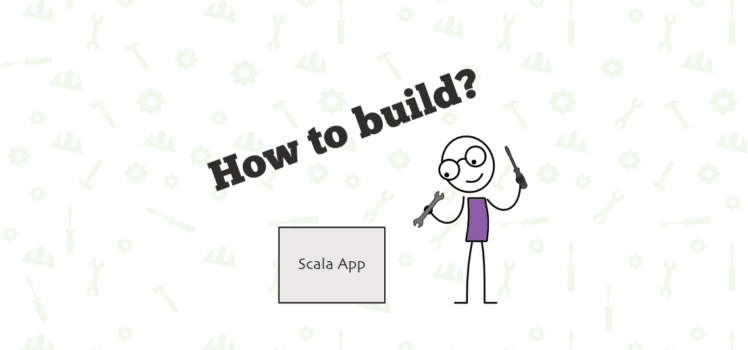how to build scala application